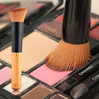 angled foundation brush - Maquiagem Multifunction Makeup Brush Professional Soft Fiber Flat Top Foundation Powder Angled Brush Cosmetic Tool WB0247