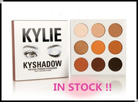 Wholesale 24pcs In stock sale hot new kylie Kyshadow pressed powder eye shadow palette the Bronze Palette Kyshadow Kit Kylie Cosmetic colors