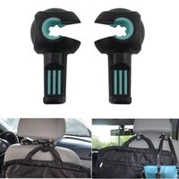 Wholesale Creative Hidden Car Seat Back Storage Hook Sundries Hanger Bag Holder Universal Multifunction Car hook Living Interior Accessories