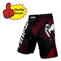 active black flies - Quality goods MMA new M1 RAPID fight short Black Red Muay Thai Boxing shorts