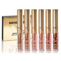 Wholesale Niubility Kylie Jenner Limited Birthday Edition Kylie Matte liquid Lipstick mini gold kylie lip kit