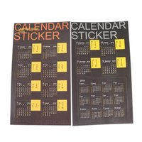 Wholesale Korea Stationery Desktop Mini Fresh Sticker Tag Desk Calendar