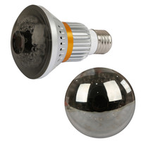 Wholesale Bulb CCTV Security DVR Camera with Remote Control Light and back up battery