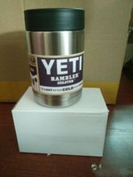 Wholesale 12oz Yeti Stainless Steel Mugs Tumbler Coolers Rambler YETI Colster Cup Coffee Mugs Double Wall Insulated Mugs Travel Mug With Logo vbm8
