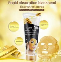 Wholesale Aichun Face Care quot Golden Mask quot Moisturizing Whitening Remove Blackhead Acne Treatment Smooth g K Gold Peel off Gel Facial Mask