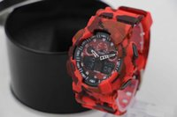 Wholesale camouflage watch dual display relogio men s sports watches LED chronograph wristwatch military watch good gift for men boy