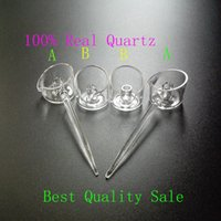 Wholesale Retail Quartz Carb Cap For Banger Nails With A Handle On The Side With One Air Hole And The Special Shape Of Edge for mm thick quartz nails