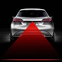Wholesale Newest Anti Collision Rear end Car Tail v led car Fog Light Auto Brake auto Parking Lamp Rearing car Warning Light car styling