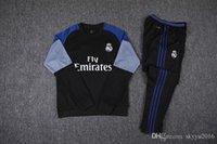 Wholesale real madrid jacket thai quality real madrid Jerseys Training suit RONALDO BENZEMA JAMES BALE football shirts