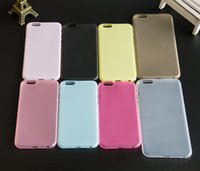 apple pudding - Colorful Pudding Jelly Soft TPU Multicolour Cover Case For Iphone G S Plus S Plus G S SE