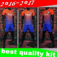 badge shorts - Top quality jerseys Manchester City soccer Jerseys Third away with PL badge DZEKO KUN AGUERO KOMPANY TOURE YAYA DE BRUYNE ET21