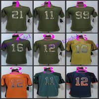 wholesale china jersey - Elliott China Wholesales Football Jersey Embroidery Logo Men Women Youth Jerseys Mix Order lynch drift fashion orange elite jers