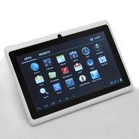 7 pulgadas tablet Pc Android4.4 wifi doble cámara externes 7