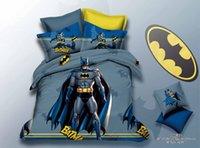 batman comforters - 2016 minons bedding sets for kids full queen batman Anna Avengers bedding boys children bedding sets duvet cover bed sheet