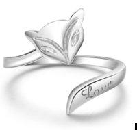 Precio de Precio más bajo por mayor de china-1,86 gramos diseño simple caliente china auténtica plata de ley 925 anillo de la joyería llano amor zorro bajos precios al por mayor