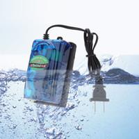Wholesale RS A Aquarium Air Pump W V Ultra Silent High Output Energy Efficient Fish Tank Oxygen Airpump Aquario Acuario Accessories