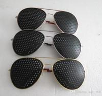 astigmatism correction - Aperture glasses pinhole glasses poor eyesight correction of myopia hyperopia astigmatism strabismus factory outlets
