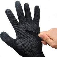 Wholesale New Cut Proof Stab Resistant Stainless Steel Metal Mesh Safety Protect Gloves