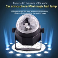 active connections - Mini LED Magic Crystal Light Ball RGB Rotating Stage Lighting with USB Connection Line for KTV Disco Club Pub Party Wedding Show Decoration