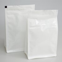 bag e bottoms - Customzied Flat Bottom Stand up Pouch Aluminum Foil Zip Lock Coffee Bag with Valve E