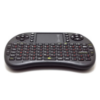 Version russe - Clavier 500RF Mini Wireless Mouse Combo 2.4GHz Télécommande Touchpad Pour Android TV BOX Notebook Tablet PC