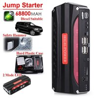 Wholesale Heavy Duty mAh USB Power Bank Portable Car Jump Starter Emergency Charger
