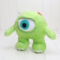 Green alien videos - Monsters alien Plush Doll cm Anime Cartoon Movie Stuffed Kids Figure Toy a