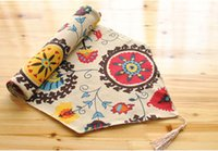Wholesale National Wind explosion models cotton Table Runner linen Table Runner cover towel fashion high grade quality