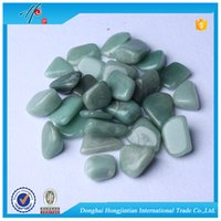 Wholesale Green Aventurine Tumbled stone mm Natural Crystal Beads Healing reiki good lucky energy stones