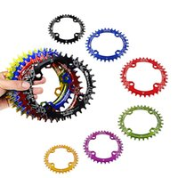Wholesale SNAIL BCD Narrow Wide Bicycle Oval Chainring T T T Ultralight A7075 Alloy MTB Bike Chainwheel Cycle Crankset