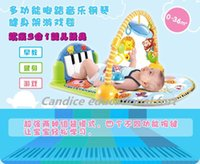 animal pedals plastic - Candice educational baby fort multi functional fitness children music pedal piano Baby crawl pad early childhood toy piano