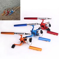 Wholesale 20 cm Mini Pen Shape Portable Pocket Ice Fishing Rod Telescopic Spinning Fishing Rods Extendable Optional Colors FHG_00B