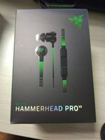 best headset gaming - 2016 Hammerhead Pro V2 In Ear Earphone Headphone With Microphone mic Retail Box Gaming Headset best quality Noise Isolation mm
