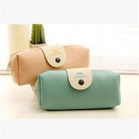 Wholesale Kawaii School Kids Pen Pencil bag Case gift Lady Girl Cosmetics Purse BAG Wallet Coin Holder Pouch Cute Estuches School