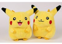 Wholesale 17cm Pikachu Plush Toys High Quality Cute Poke Plush Toys Children s Gift Toy Kids Cartoon Peluche Poke mon Pikachu Plush Doll
