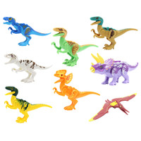 Wholesale Jurrassic World Park Dinosaur Figures YG77001 Building Blocks Sets Models Mini Figures Toys For Children Christmas Gifts