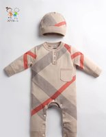 Wholesale new arrival baby girl and boy rompers cute jumpsuit size months