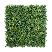 Wholesale 12 Pieces cm x cm Artificial Hedges Mats Artificial Plants Plastic Boxwood Hedges Mats Garden Ornaments
