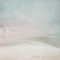 Wholesale Printed photography background fabric snow backdrop ft x ft D