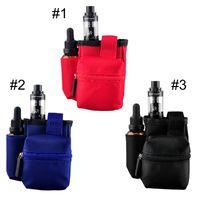 Wholesale Portable E Cigarette Bag Carrying Case for Kanger Dripbox smok H priv w starter kit Innokin Coolfire IV w Kit DHL Free
