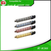 empty cartridge empty toner cartridge - Ricoh C305 Compatible Toner Cartridges For Ricoh MP C305 OEM BK C M Y pages