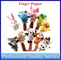Wholesale Stuffed Toy Animals Plush Toy Talking Finger Puppets for Baby years old Made by PP Cotton TOY0021