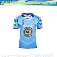 america super - NEW Zealand NSW Holden NSW blue Rugby jersey Top HOME America BLK BLUE RWC NRL Super RUGBY home and away rugby jerseys Shirts