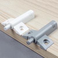 Wholesale 10pcs set Small Plane Damper buffer Bumper Cabinet Door stops Dresser DrawerDrawer Soft Quiet Close Closer Gray White