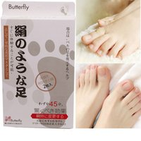 beauty foot mask - MiFo Super Exfoliating Foot Care Socks For Pedicure Sosu Socks Peeling Foot Care Beauty Feet Mask