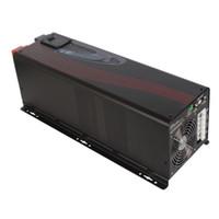 Cheap High Reliability Solar Inverter 5000W 24V 48VDC 120V 230VAC Double Output for Refrigerator, Air Conditioner, Motor, Freezer