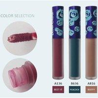 beets - Blue Crime Matte Liquid Lipsticks Lip Gloss Velvetines Lipstick Brand Long Lasting Makeup Make Up Buffy Peacock Beet it DHL Free Ship