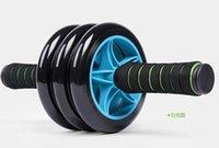 Wholesale 2016 HOT Wheels Men and Women fitness wheel for AB Roller Sport equipment Blue Green