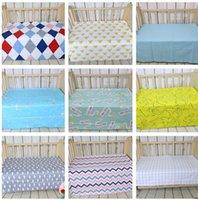 baby crib mattress springs - Baby bed ins sheet Crib Cot Bed Sheet Crib Sheets Kids cartoon swan mattress cover cotton bed sheet soft crib cm KKA629