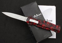 Wholesale Benchmade Zinc Aluminum handle Blade HRC survival camping outdoor knife EDC tools